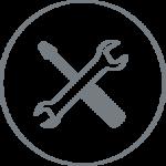 Icon Ein- und Ausbau
