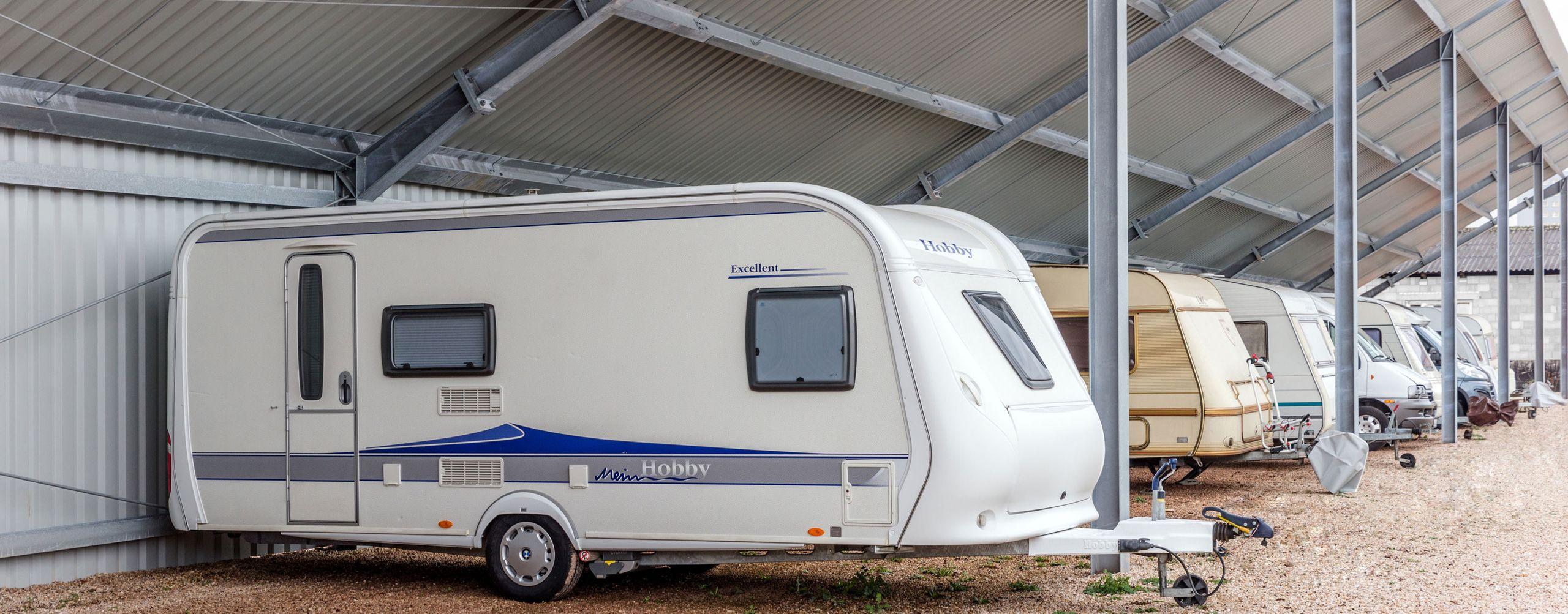 Caravanstellplätze bei Hampl Motors GmbH